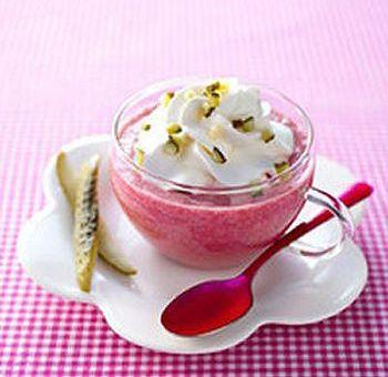 Cappuccino de betterave : entrée froide d'hiver