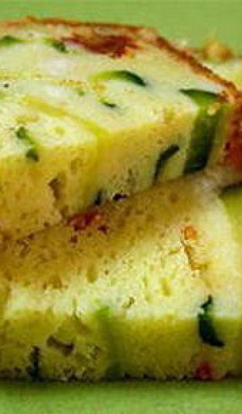 Cake aux courgettes et épices