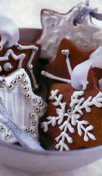 Étoiles en pain d'épices