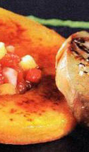 Foie gras fraises melon