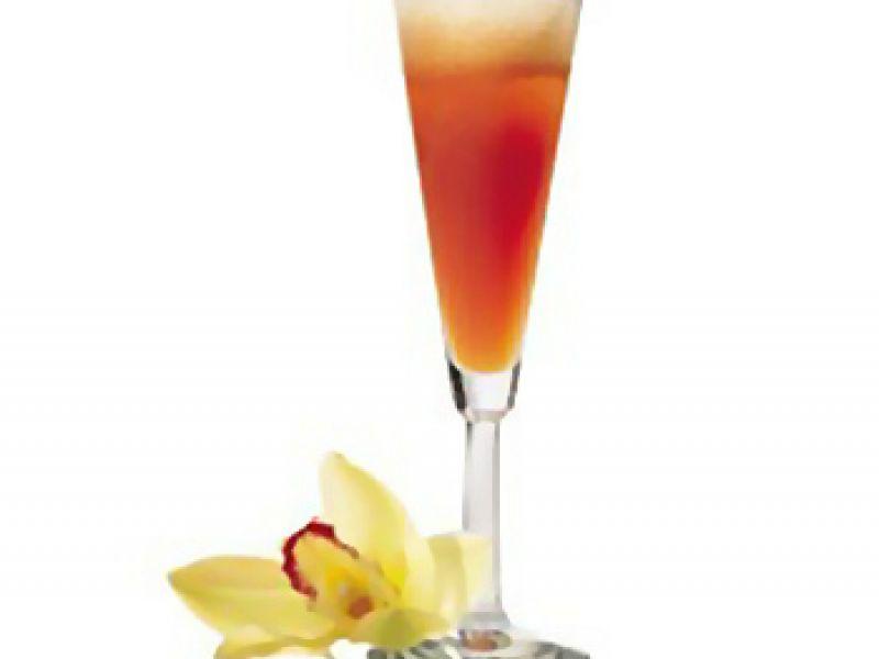 Cocktail mousseux ou tisane